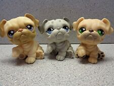 ❤️ Littlest Pet Shop Lot ❤️BULLDOG Dog Family  ��