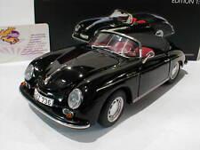 """Schuco 00311 # Porsche 356 A Speedster Baujahr 1955-58 in """" Schwarz """" 1:18 NEU"""
