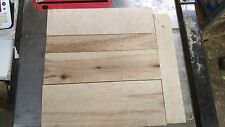 Assorted Kiln Dried Birds Eye Maple Planks mixed heartwood and sapwood 5 Pieces