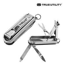 True Utility TU215 NailClip Kit with Nail Clippers, Scissors, Blade, case