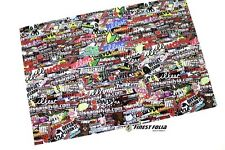 RC 1:10 CAR Stickerbomb Folie Aufkleber Heli Boot Skull Decal Sticker Drift