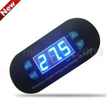 DC12V Digital Thermostat Temperature Alarm Controller Sensor Meter Blue LED