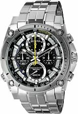 Bulova Men's Stainless Steel Precisionist Chronograph Watch 96B175