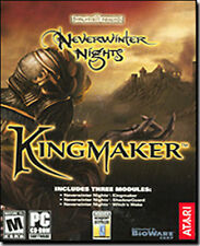 Neverwinter Nights Kingmaker   Three premium expansions  Brand New in Box for PC