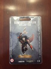 Warhammer 40K Blood Angels Chaplain with Jump Pack New/Sealed