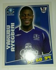 Topps Total Football 2009 #128 Yakubu Ayegbeni Everton FC