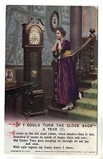 If I Could Turn The Clock Back A Year No 1 Bamforth Song Card