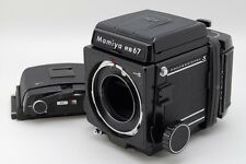 Excellent+++++ Mamiya RB67 Pro S Medium Format Camera Body 120 Backs from Japan