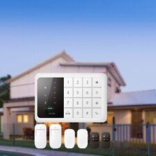 Touch GSM Funk Alarmanlage Bewegungsmelder Fernbedienung Fenster Denver HSA-120
