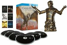 Game Of Thrones - Season 1 2 3 4 5 & 6 **NEW** BLU RAY Bronze Bust Edition