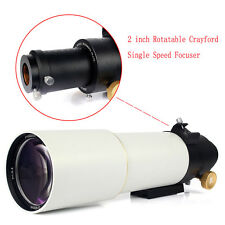 Astronomical Telescope OTA  90mm F500 Refractor FMC For DSLR Photography +track