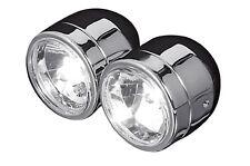 Double-phares chrome Ducati Monster 400/600/620/695, Chromed twin lumineuse