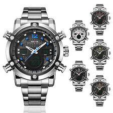 2016 Selling Fashion Wade Sport Mens LED Digital Date Steel Waterproof  Watch