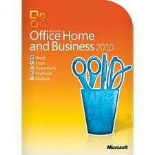 Sealed & Genuine Microsoft Office 2010 Home and Business (Box Version)