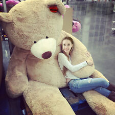 "102""/260cm HUGE SUPER PLUSH TEDDY BEAR(ONLY COVER) PLUSH TOY SHELL (WITH ZIPPER)"