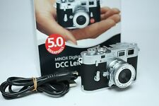 Minox Leica M M3 5.0 5.0 MP Digital Camera - Black Silver