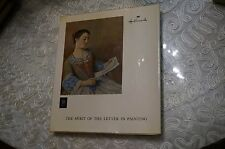 [1305] THE SPIRIT OF LETTER IN PAINTING JEAN LEYMARIE BOOK HALLMARK EDITION BOOK