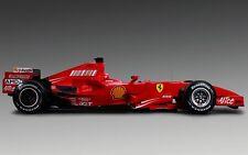 Incorniciato stampa-FERRARI F1 RACE CAR (foto poster arte sport motoristici FORMULA 1)
