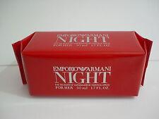 Emporio Armani Night for Her Red Eau de Parfum 50 mL (1.7 oz) Sealed