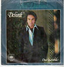 "633-03  7"" Single: Neil Diamond - Desiree / Once In A While"