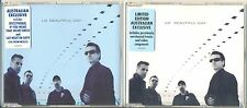 U2 Beautiful Day AUSTRALIAN Only Issue CD Single BLUE Cover