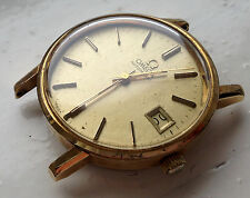 Gentleman's Gold Plated Omega Automatic Cal. 1010 Wristwatch For Spares/Parts