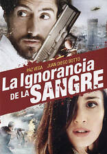 La Ignorancia De La Sangre,Very Good DVD, Paz Vega, Juan Diego Botto, Manuel Góm