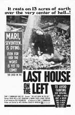 Last House On The Left Poster 01 Metal Sign A4 12x8 Aluminium