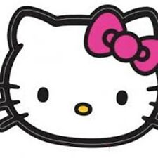 Hello Kitty Star Party - 6 Invite Cards +Envelopes Birthday - FREE POST IN UK