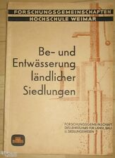 Schneider   Be  & Entwässerung ländlicher Siedlungen Hochschule Baukunst Weimar