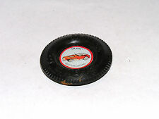 Vintage Hot Wheels Redline PLASTIC BUTTON The Hood **RED LIGHT SPECIAL**