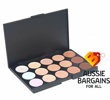 15 colour Makeup Cream Contour Contouring Concealer Foundation Palette Kit Set