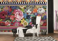 MURALE Parete Foto Carta da parati Melli Mello jema astratta fiori Home Decor 368X254