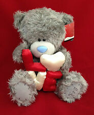 "ME TO YOU BEAR TATTY TEDDY 12"" LOVE RED & CREAM LETTERS & HEART BEAR GIFT"