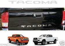 Chrome Tailgate Letters Inserts For 2016-2017 Toyota Tacoma New Free Shipping