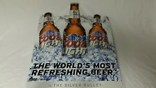 Coors Light Icy Mountain Silver Bullet American Classic 18x24 Metal Beer Sign
