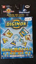DIGIMON Gioco di Carte Mazzo Deck 2 GIOCATORI! Digi Battle Card Game, mai usate!