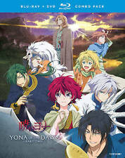 Yona of the Dawn : Part Two (Blu-ray + DVD, 2016, 4-Disc Set) NEW FACTORY SEALED