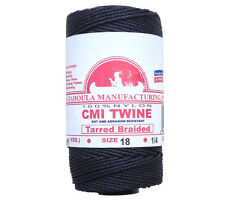 Catahoula #18 Tarred Braided Bank Line 1/4 lb Spool 275' 160 lb Test Nylon Twine