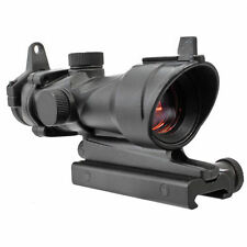 1X 32 Tactical Red Green Dot Sight Scope with 20mm Weaver Rail Mount for Rifle