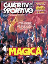 Guerino Sportivo n°16 1986 - Magica ROMA - Poster Udinese 1985-86 [GS38]
