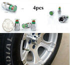 Useful 4X Car Auto Tyre Tire Pressure Monitor Valve Stem Caps Indicator 3 Color
