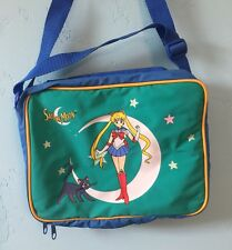 Vintage Sailor Moon Lunch Bag 1999 90s anime cartoon collectible