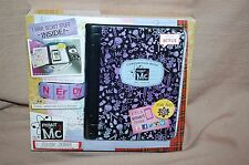 Project MC2 A.D.I.S.N. Journal Interative Spy Notebook/Composition Book NEW