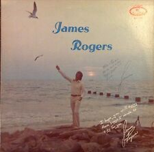 James Rogers LP, Rare 1975 Tennessee Private Folk Psych, RC Records