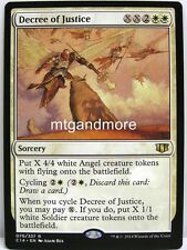 Magic Commander 2014 - 1x  Decree of Justice