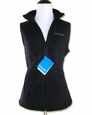 NWT Columbia Women's Three Rivers Fleece Vest Black M