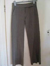 Brown & Grey Smart Primark Trousers in Size 8 - W29 L32