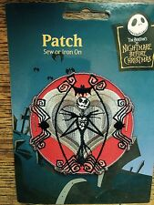 A Vintage Nightmare Before Christmas Jack Skellington Spider Bat Sew/Iron Patch