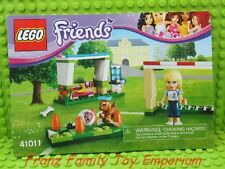 41011 Lego Friends INSTRUCTION Manual ONLY Soccer Practice Sport No Brick Parts